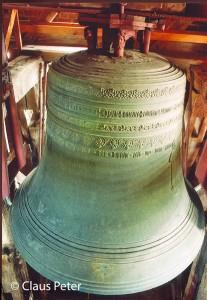 Grosse Glocke der Marienkirche zu Treptow an der Rega