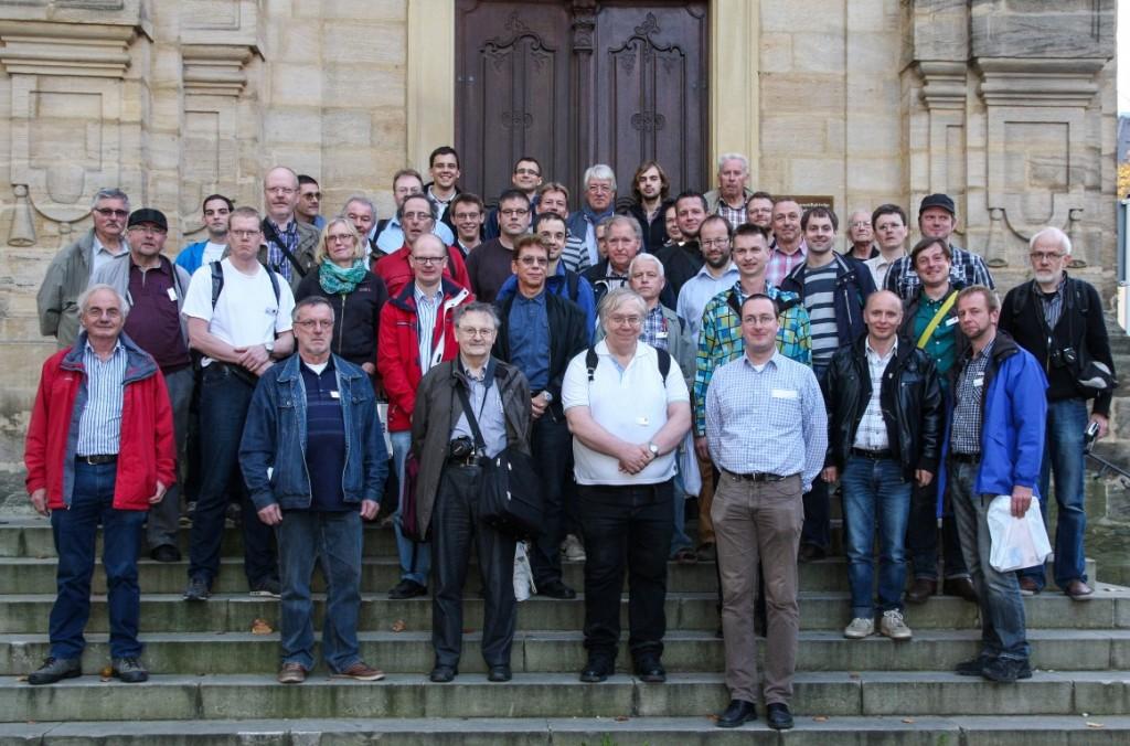 Teilnehmer des Kolloquiums (nicht vollständig) - Photo S. Wamsiedler