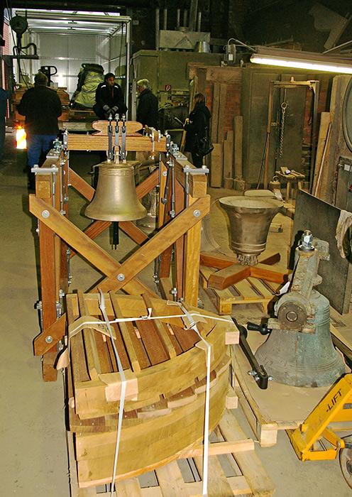 Leihgaben der Glockengießerei Petit & Gebr. Edelbrock, Photo: Dr. Hendrik Sonntag