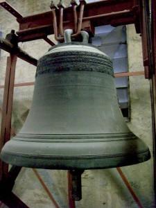 Johannes Baptist-Glocke 1840 von Fr. Chr. Zimmermann gegossen