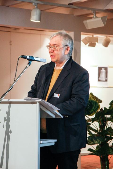 Erster Vorsitzender Prof. Dr. R. Pfeiffer-Rupp bei seinem Eröffnungsvortrag